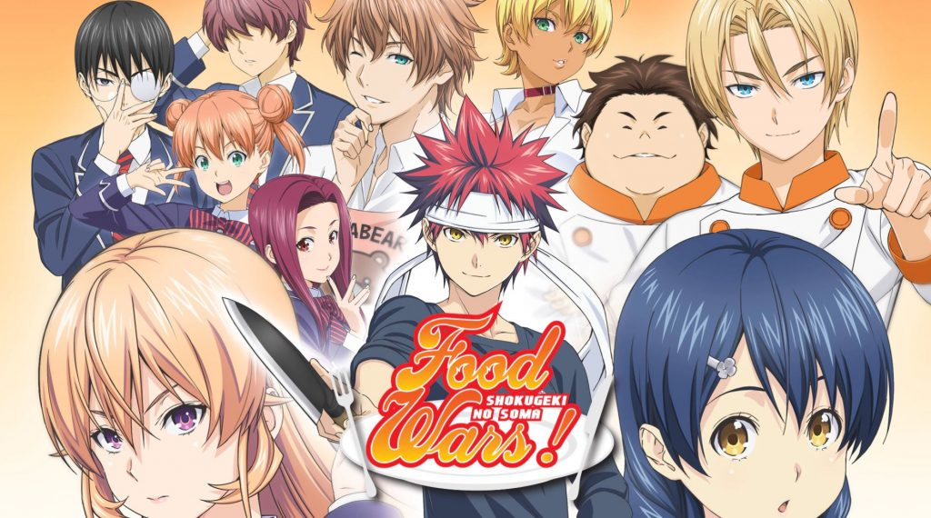 Food Wars! – Season 1 Shokugeki No Soma