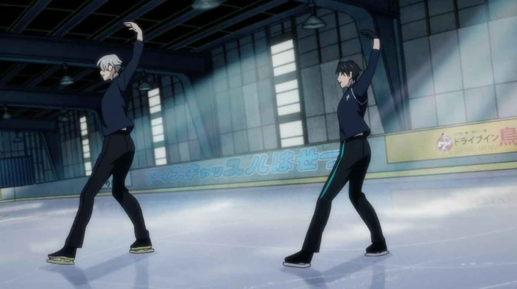 Victor and Yuri Skating