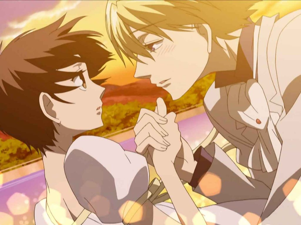 Haruhi and Tamaki